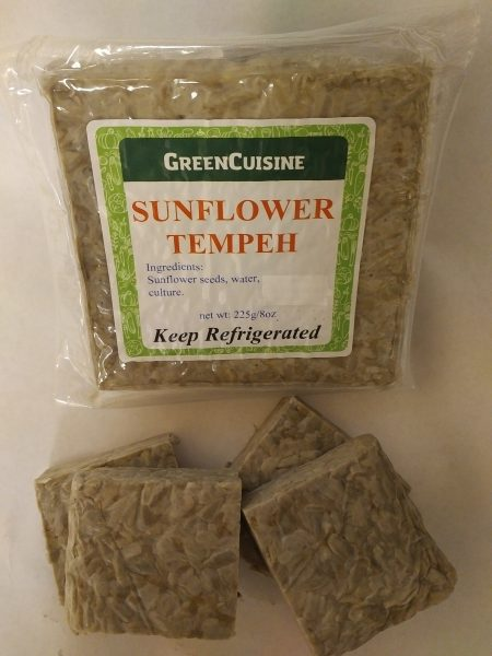 sunflower tempeh